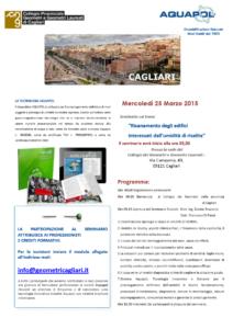 Seminario umidità di risalita a Cagliari