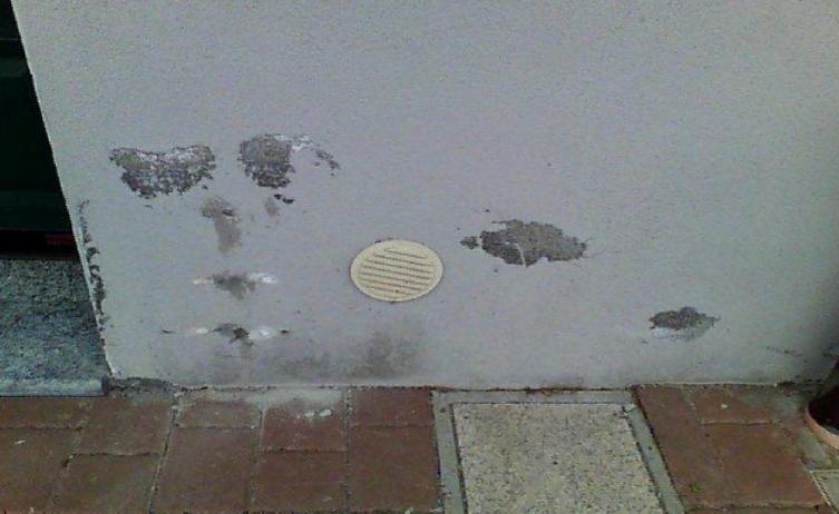 umidità di risalita sui muri