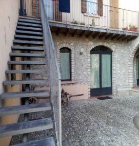 abitazione in gargnano con umidità di risalita