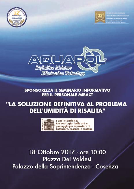 convegno Aquapol sull'umidità di risalita
