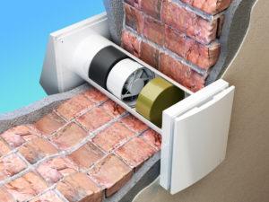 installazione scambiatore d'aria