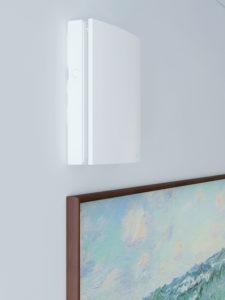 scambiatore d'aria a parete