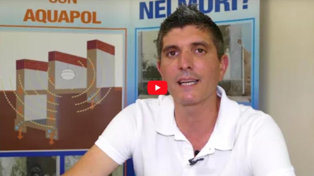 presentazione soluzione Aquapol umidità di risalita