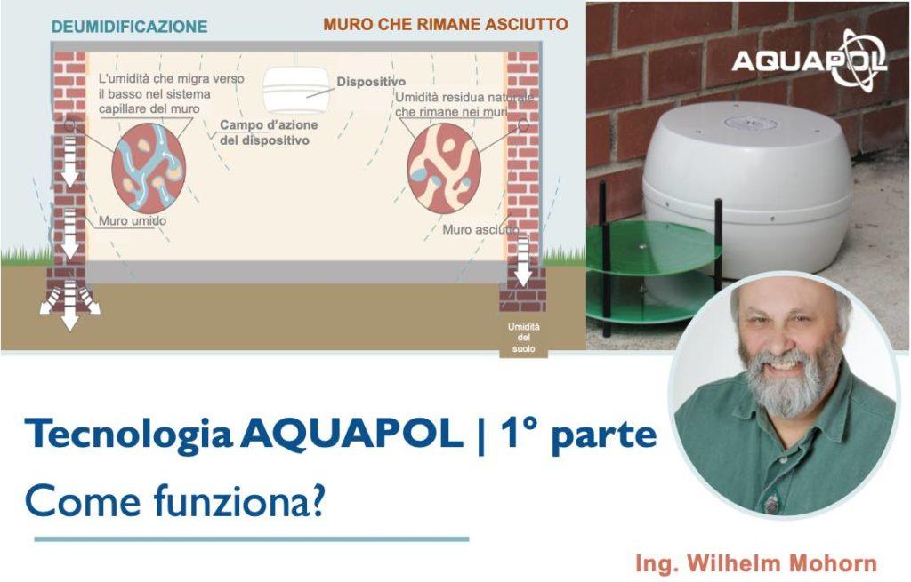 Terzo webinar su Aquapol e umidità di risalita